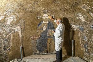 Археологи знайшли найдавніші венеційські фрески
