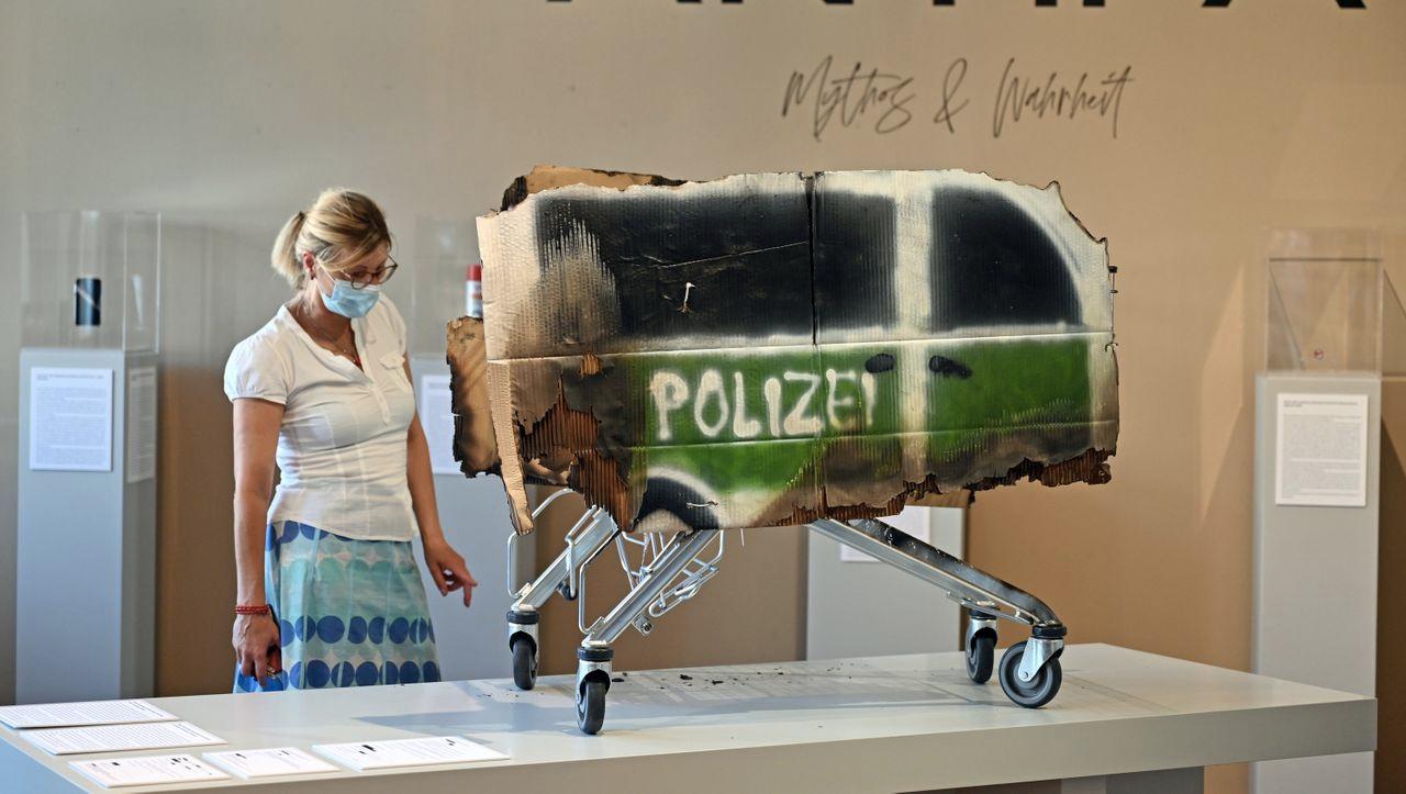 Німецький музей тимчасово усуне твори про антифашиський рух з виставки