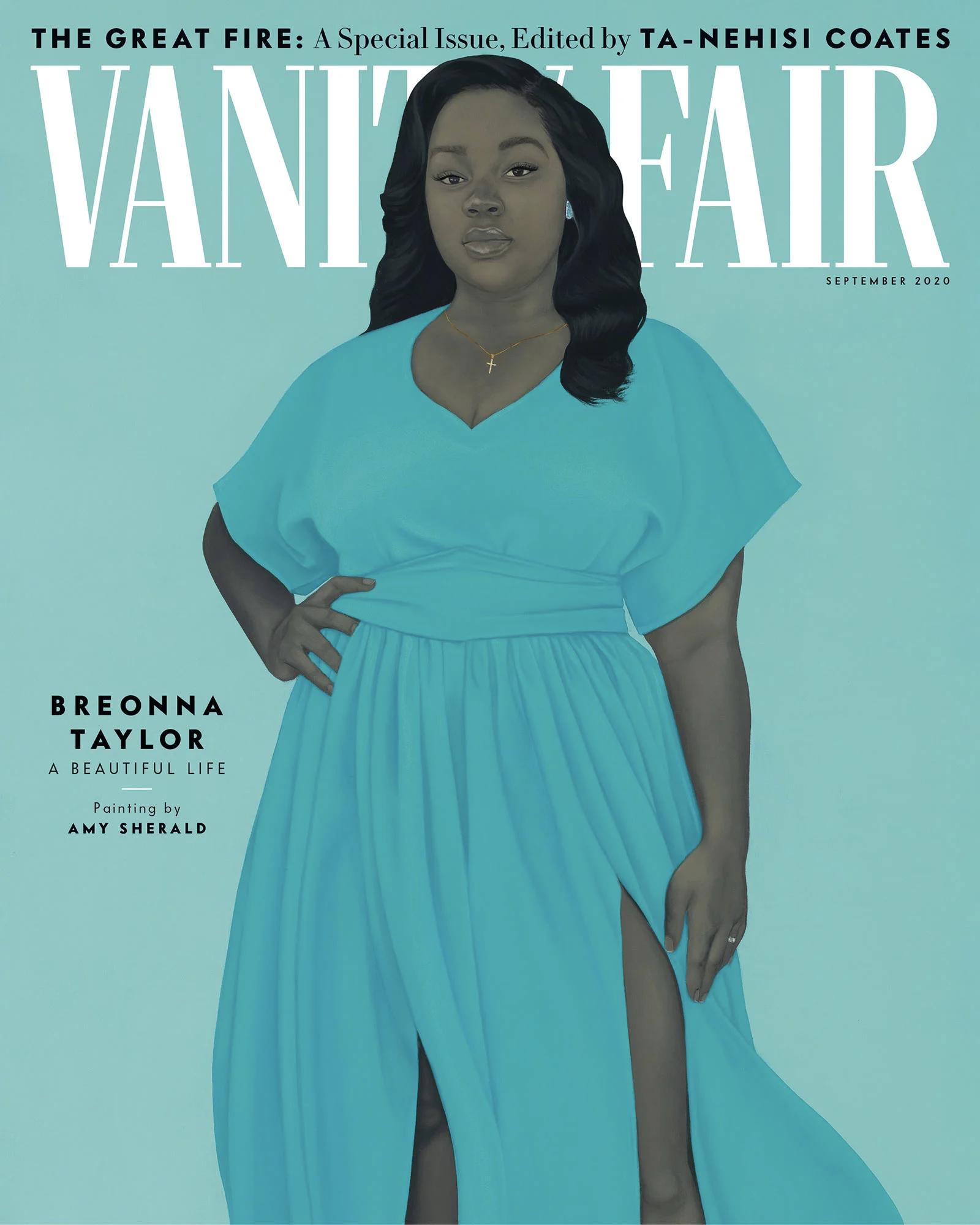 Vanity Fair випустив номер з портретом Бреонни Тейлор