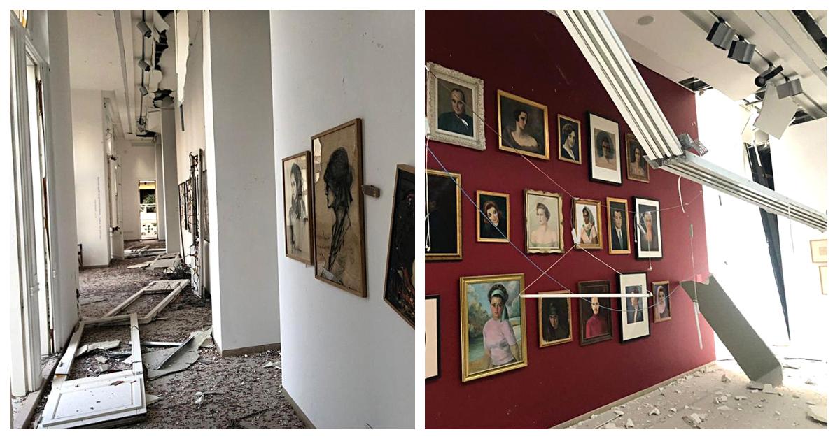 Від вибуху в Бейруті постраждали також музеї та галереї