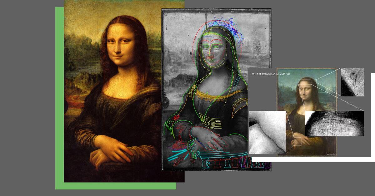 Під картиною «Мона Ліза» знайшли прихований ескіз