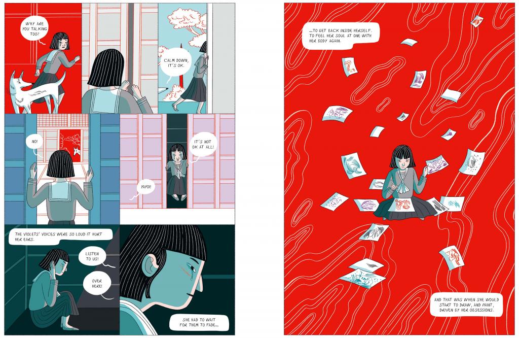 Вийшов перший графічний роман про життя Яеї Кусами