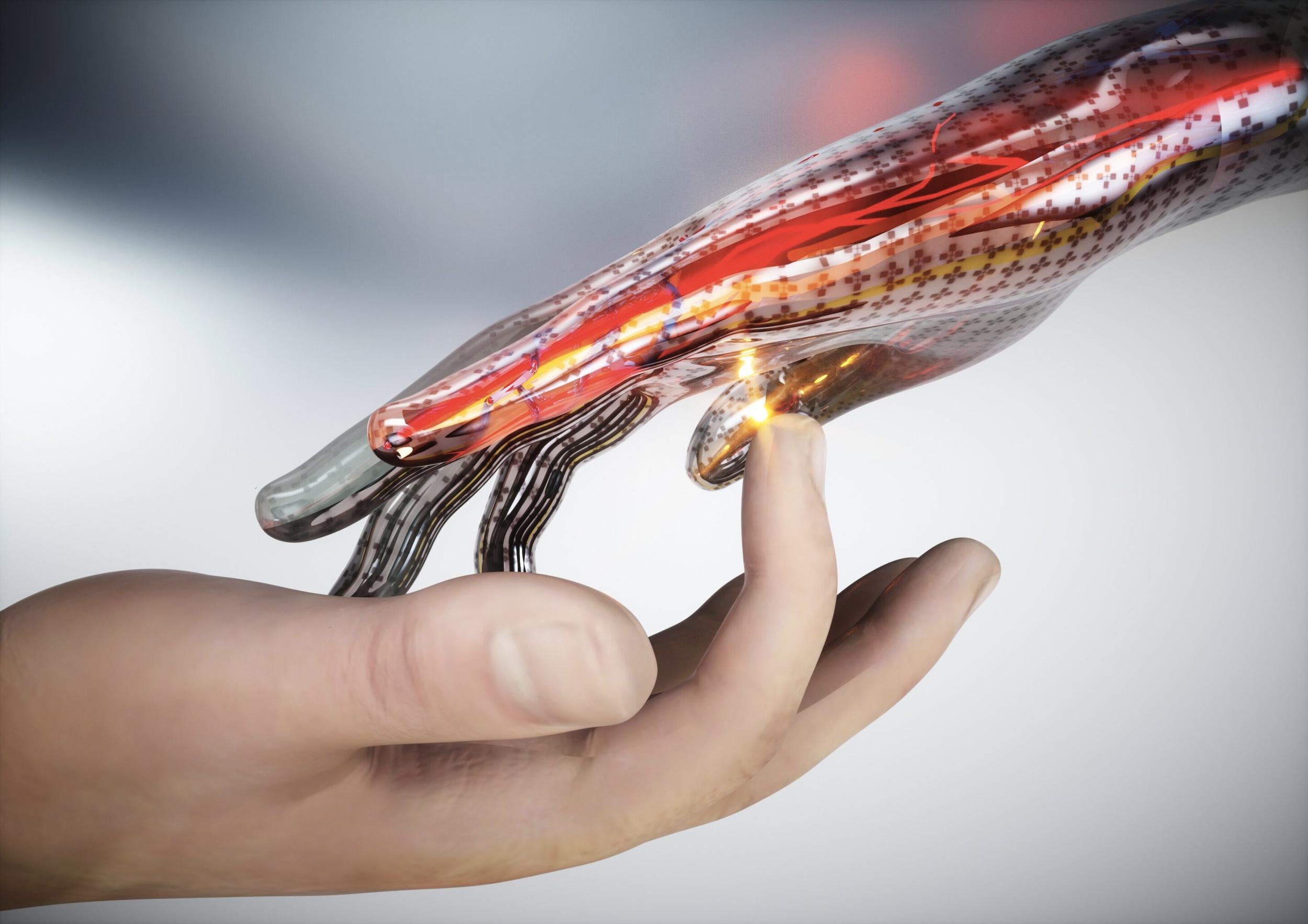 Австралійські вчені розробили електронну шкіру, здатну відчувати біль