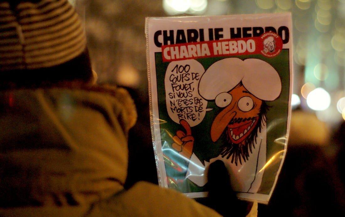 Французький журнал знову опублікує карикатури на Мухаммеда