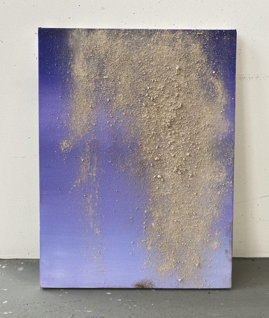 Художник створив картину з праху батька друга
