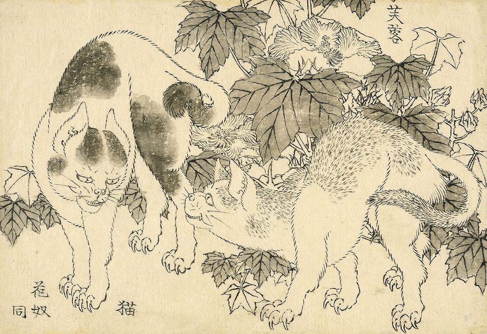Британський музей придбав 103 загублені малюнки Хокусая