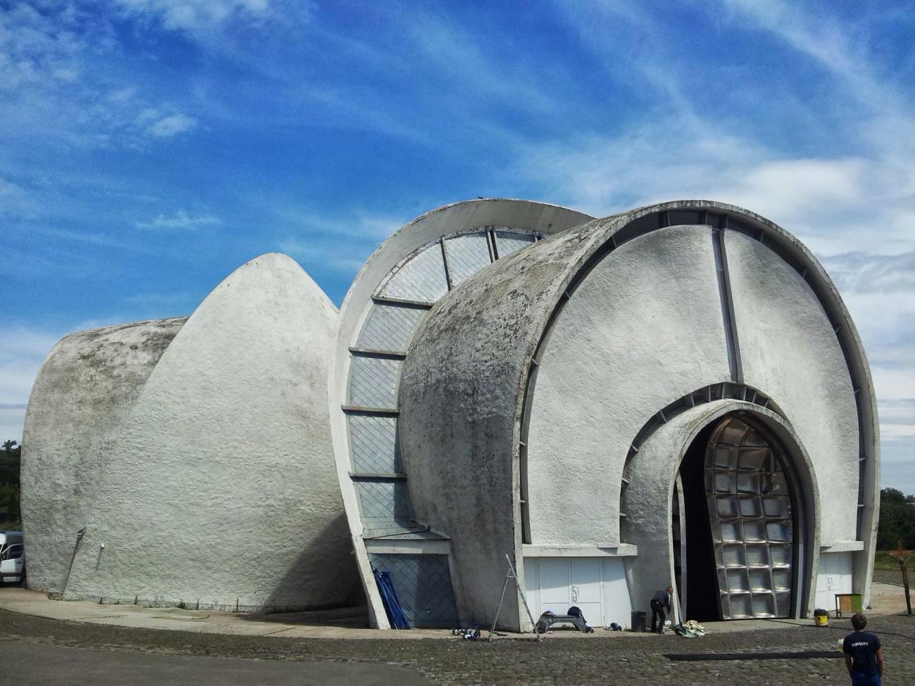 Зали прощання київського крематорію стали об'єктами культурної спадщини