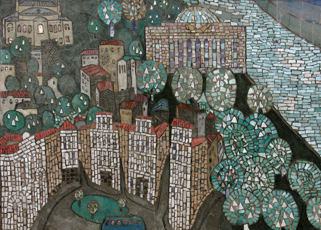 На Центральному автовокзалі збережуть радянські мозаїки
