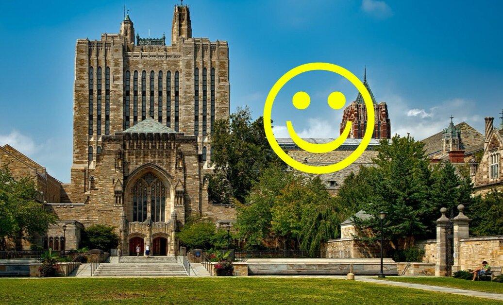 Єльський університет зробив безкоштовним онлайн-курс про щастя