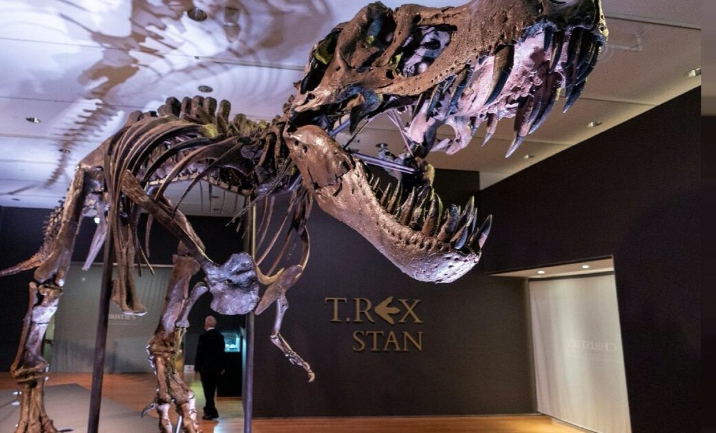 Скелет тиранозавра продали дорожче за Пікассо і Ротко