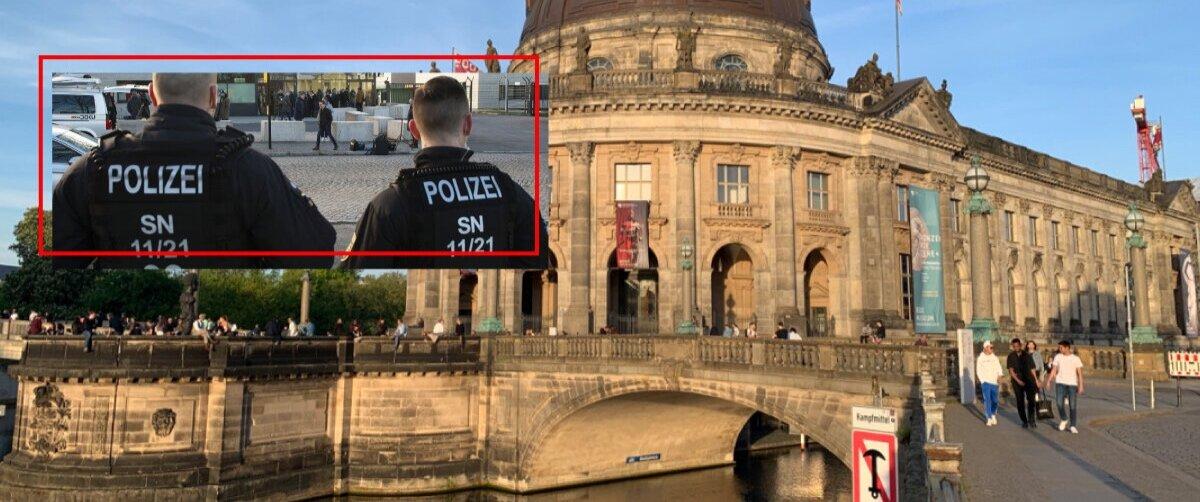 На Музейний острів у Берліні напали вандали
