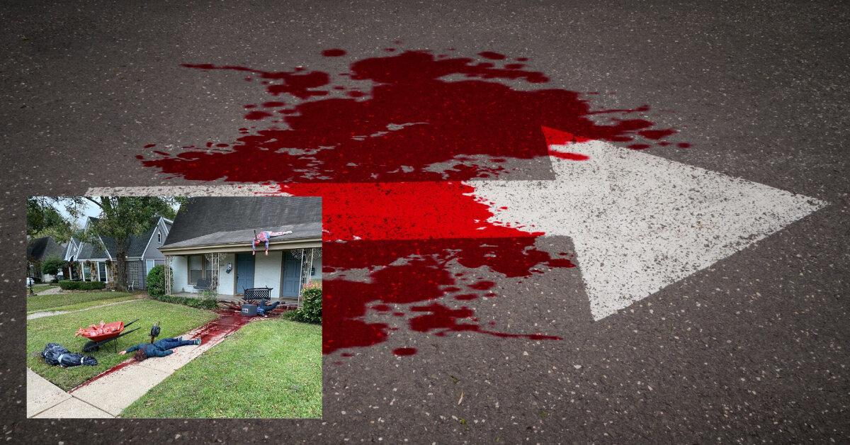 Художник задекорував будинок мертвими тілами