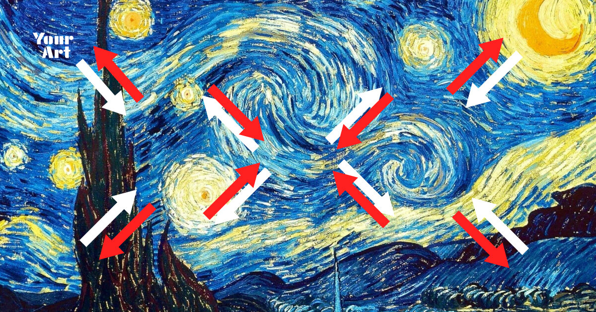 Арткритик поділився оптичною ілюзією, яка змушує картинку рухатися