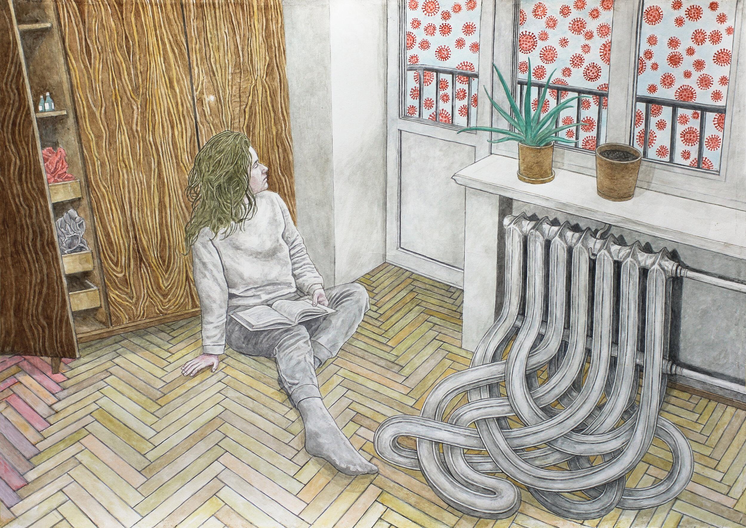 Чи могли б ми бути не художниками: карантинна серія Давида Чичкана