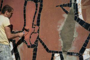 У Миколаєві частково відновили мозаїку