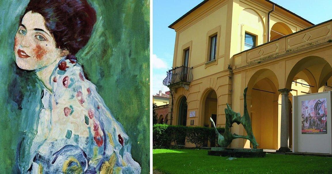 Вкрадену картину Клімта повернуть італійській галереї