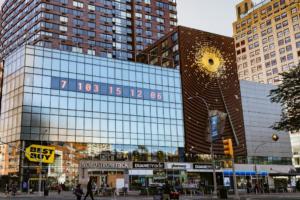 У Нью-Йорку встановили годинник, що відраховує час до кліматичної катастрофи