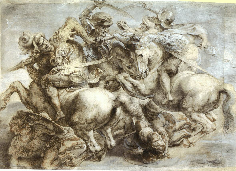 Мистецтвознавці довели, що фрески Леонардо да Вінчі «Битва при Ангіарі» не існувало