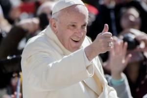 Папа Римський уперше підтримав одностатеві шлюби