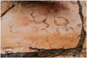 В Австралії знайшли новий стиль наскельного живопису