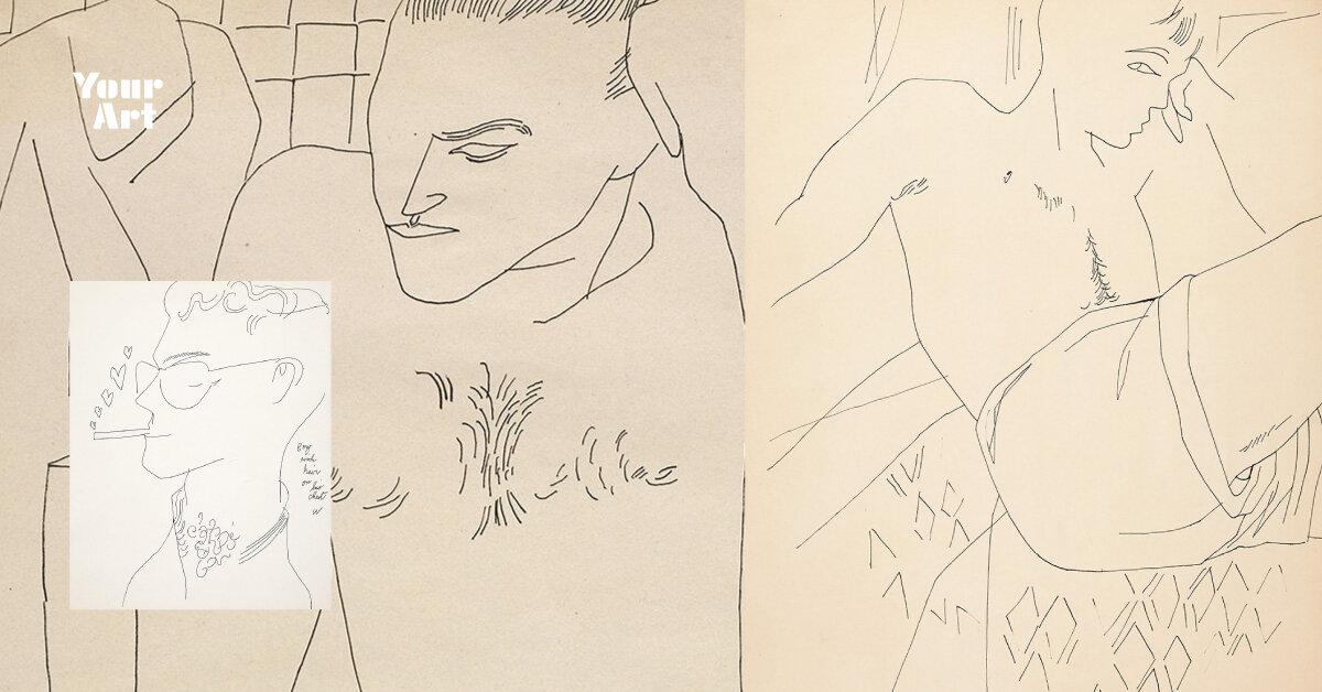 Taschen випустив книгу з невідомими малюнками Ворхола