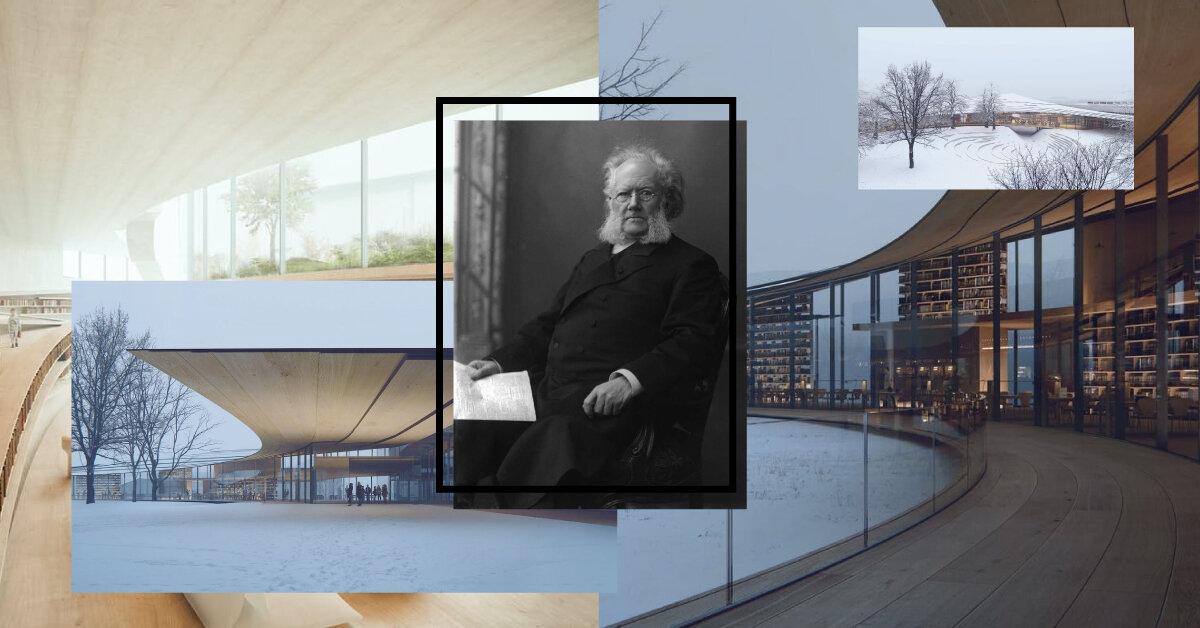 У Норвегії збудують бібліотеку Ібсену
