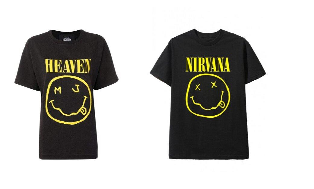 Марк Джейкобс впевнений, що логотип Nirvana належить не групі