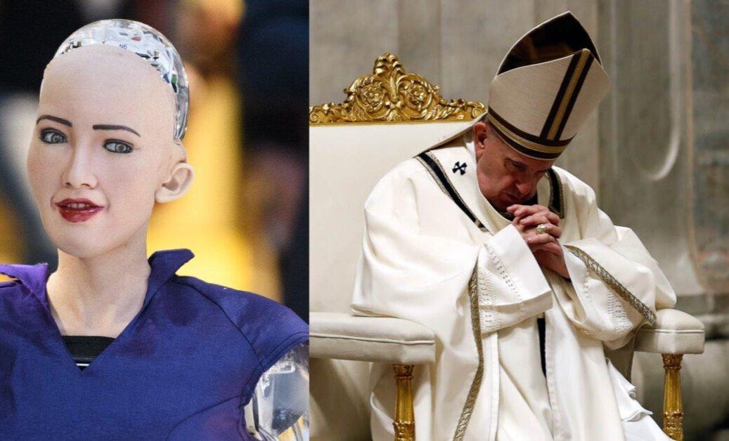 Папа Римський молитвою просить штучний інтелект «завжди служити людству»