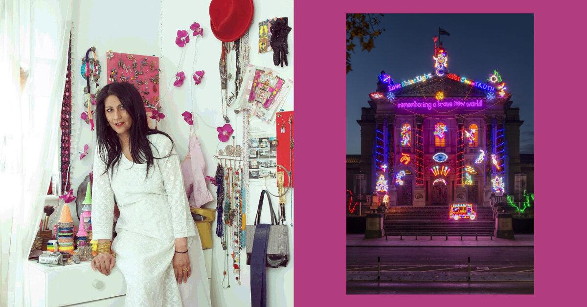 Чіла Кумарі Бурман створила інсталяцію для фасаду Tate Britain