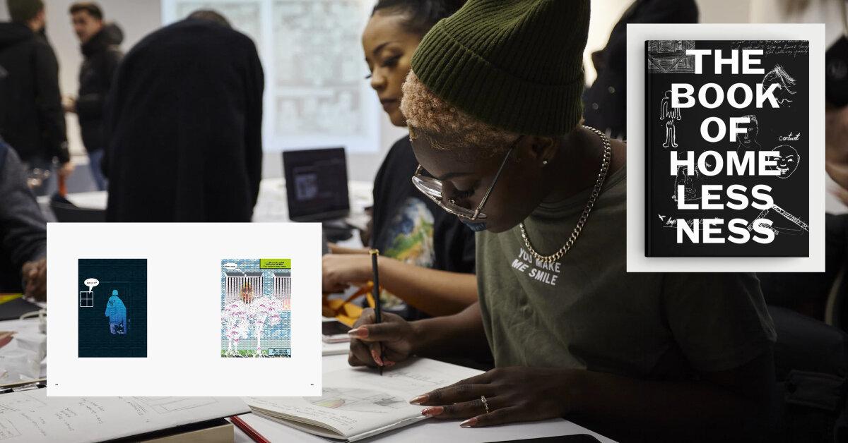 Бездомні Лондона створили комікс про життя на вулиці