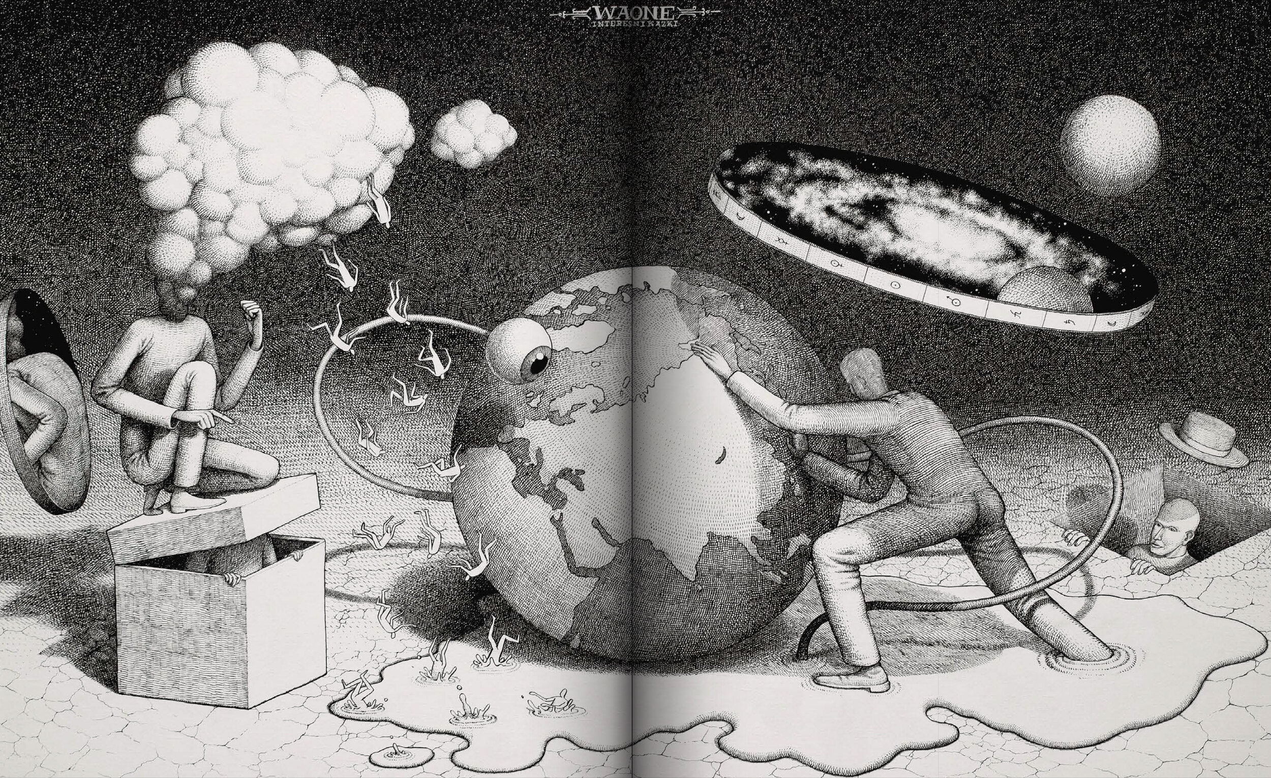 Володимир Waone Манжос випустив артбук Worlds of Phantasmagoria Vol.1