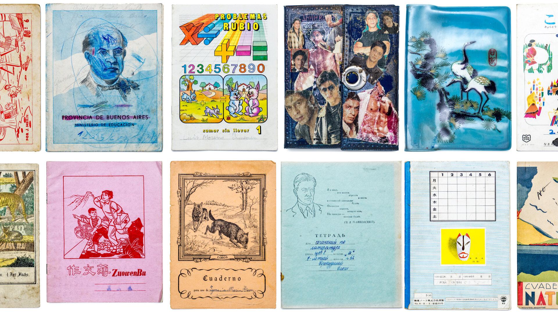 У мережі відкрили архів дитячих шкільних зошитів