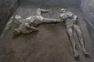 Археологи в Помпеях знайшли нові скам'янілості