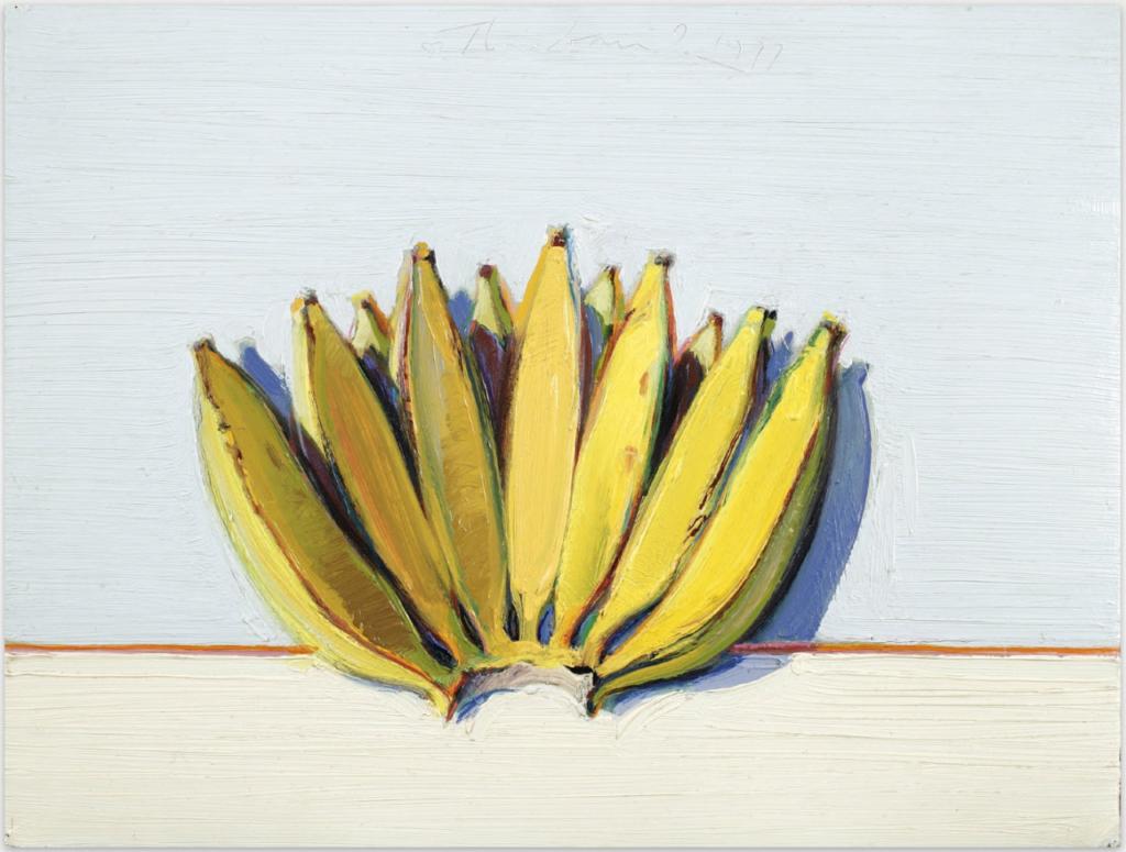 Wayne Thiebaud Bananas, 1963