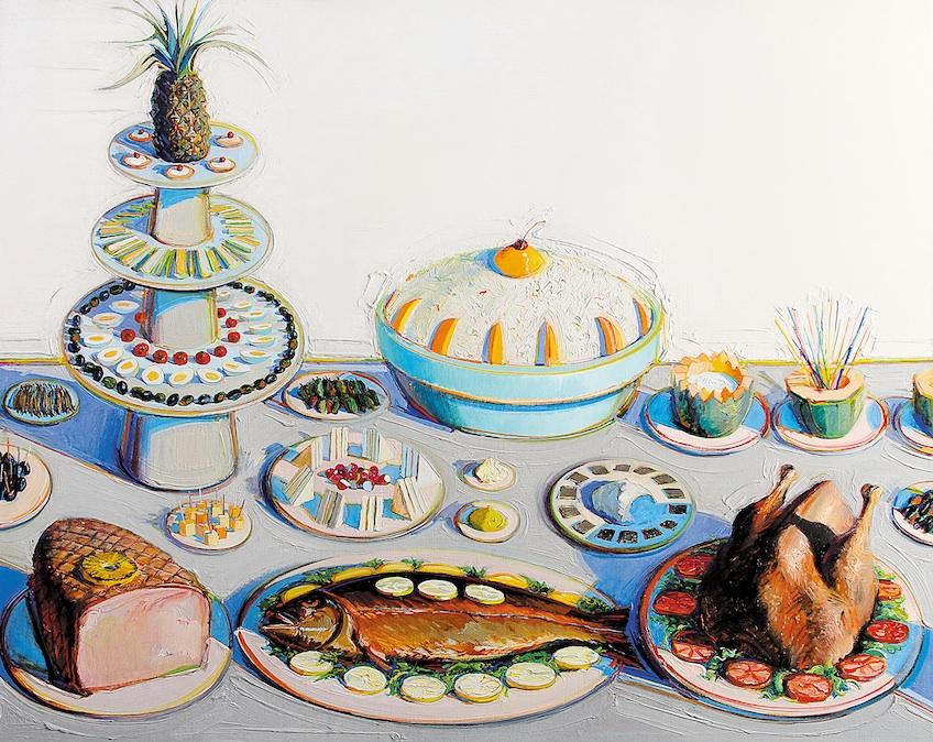 Wayne Thiebaud, Buffet, 1972-75