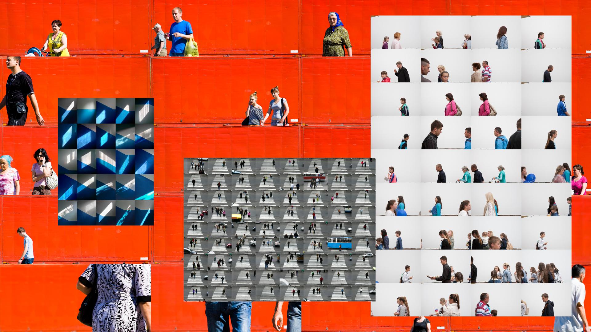 Множинність образу в серії робіт Вадима Козловського