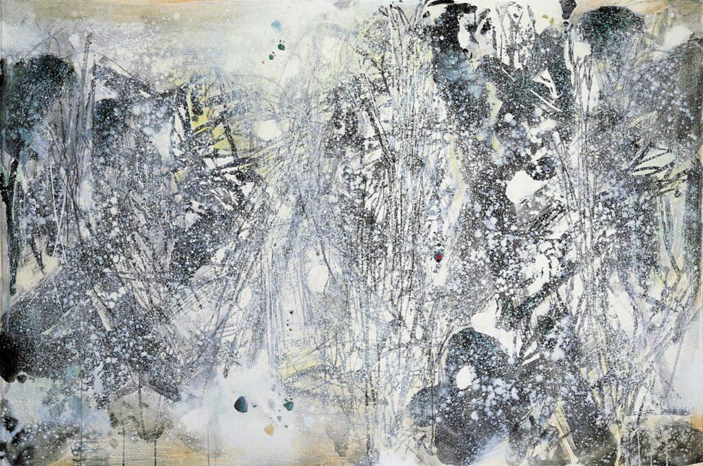 Чжу Децюнь, «Білий ліс I», 1987