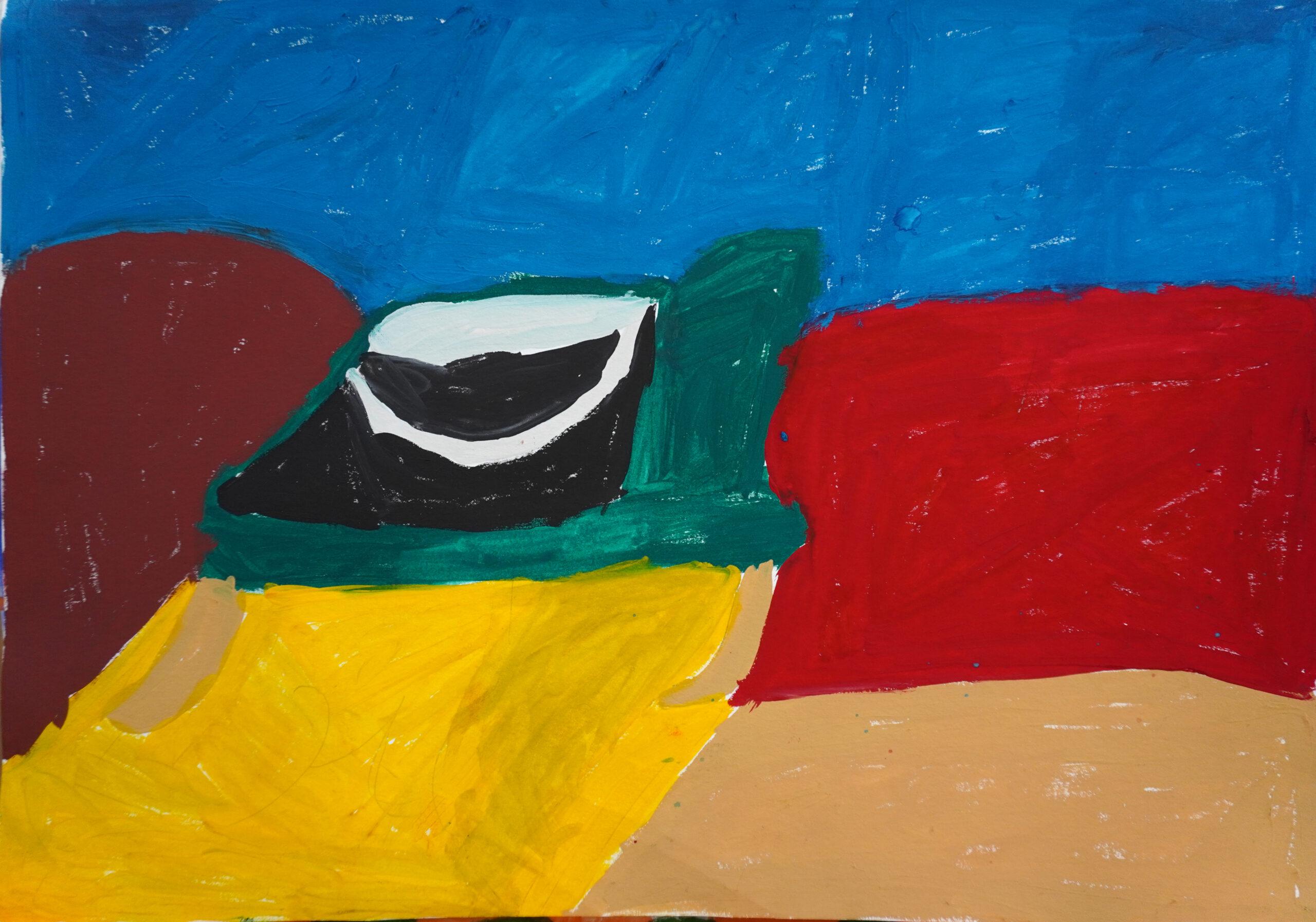Ганна Сапон, Multicolored background bucket scaled