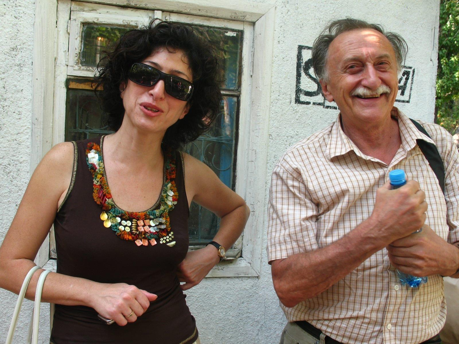 Тетяна Тумасян та Борис Михайлов. Фото надане Тетяною Тумасян