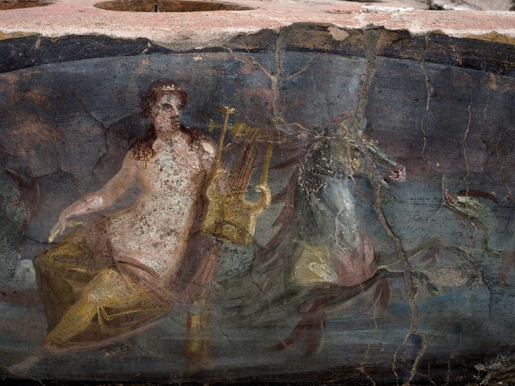 Стародавні фрески, фото:Pompeii — Parco
