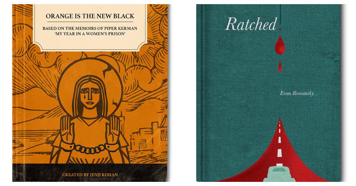 Дизайнери створили можливий дизайн книжок по серіалах від Netflix