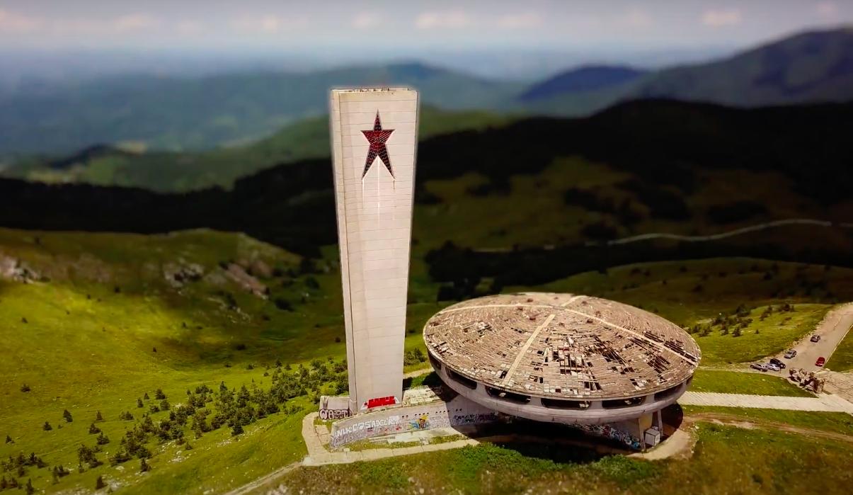 Німецький художник зняв короткометражку про модерністську архітектуру Болгарії
