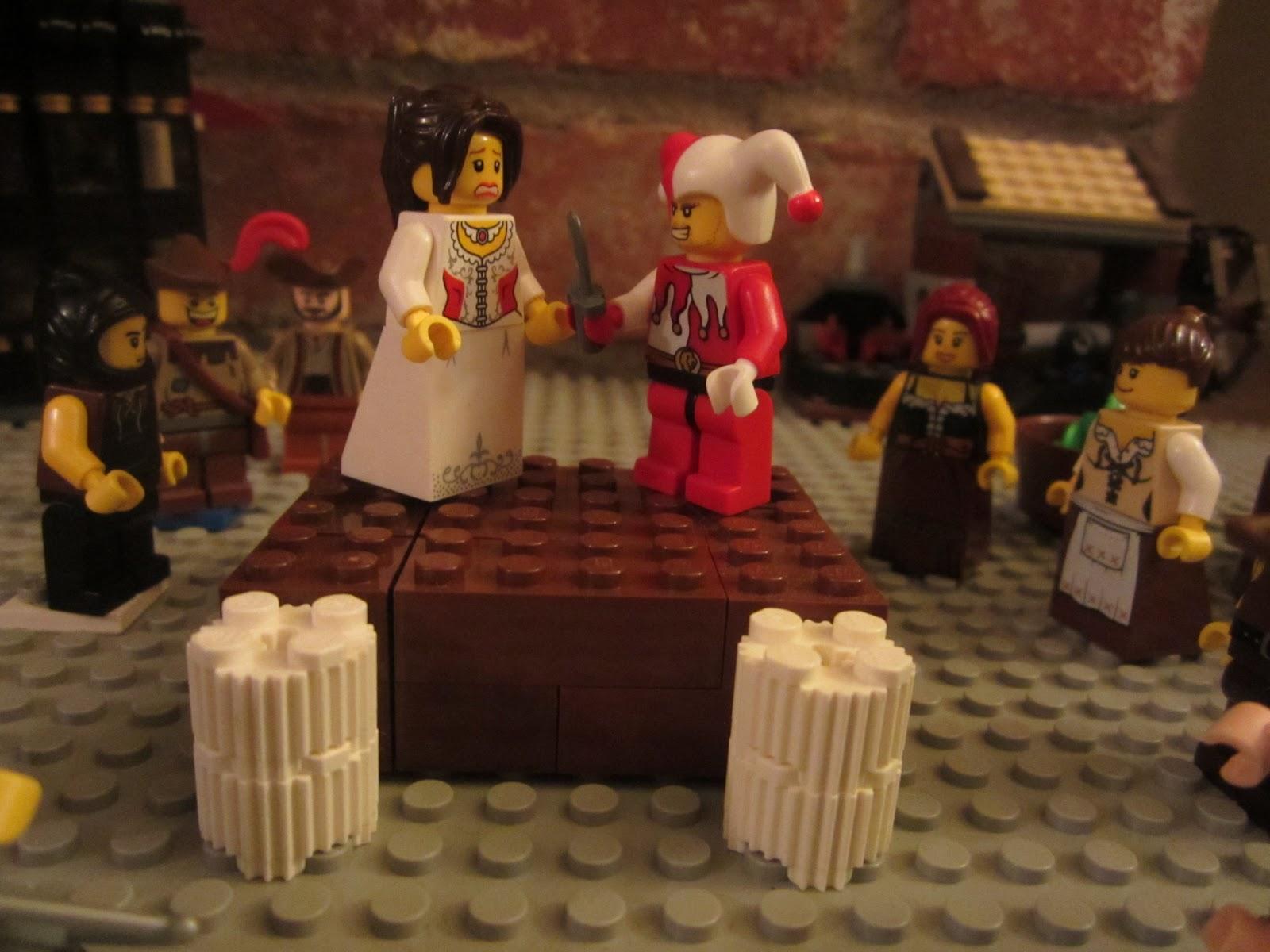 За допомогою Lego відтворили класичну оперу