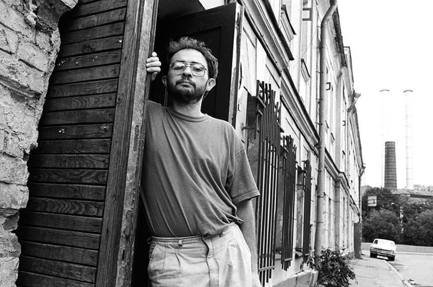 Марат Гельман в молодості, 1993. Фото: Ігор Мухін