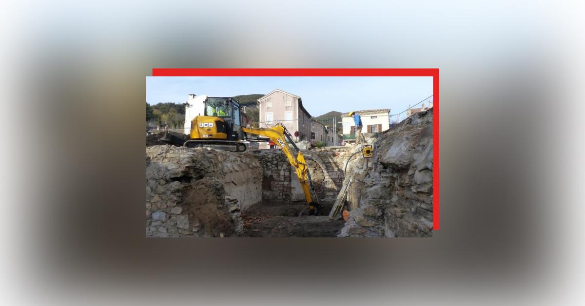 У Франції під старими будинками знайшли залишки жіночого монастиря