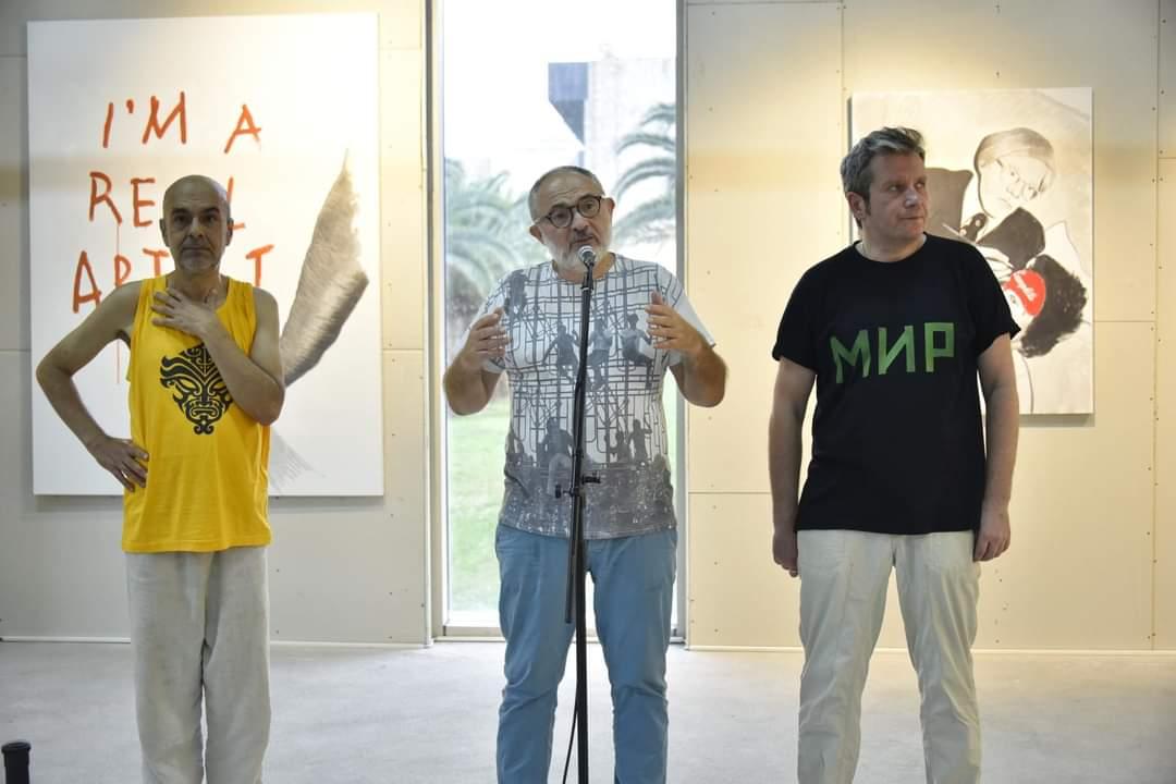 Виставка Ігоря Гусєва «Сповідь резидента», Dukley European Art Community, Чорногорія, 2016