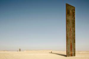 У пустелі Катару вандали атакували інсталяцію Річарда Серри