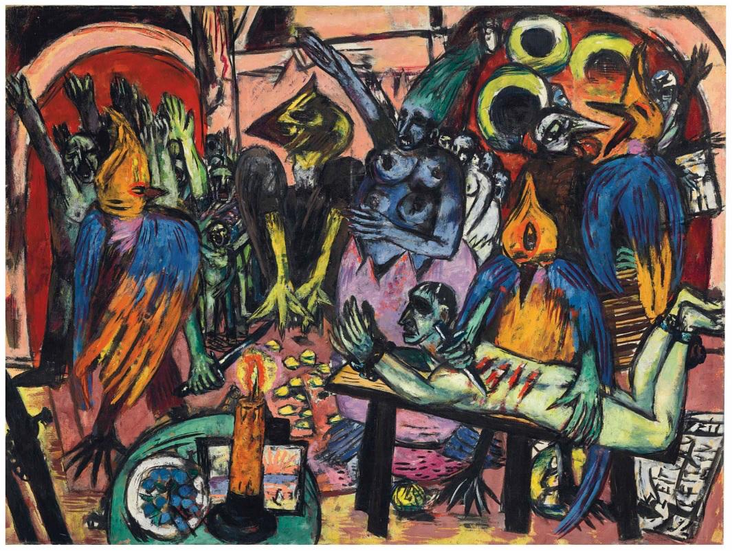 У мережі з'явився цифровий каталог усіх картин Макса Бекманна