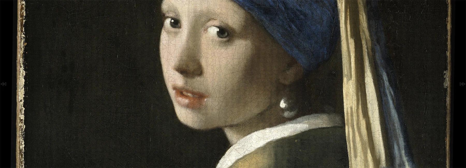 Гаазька галерея опублікувала найдетальніше зображення картини «Дівчина з перловою сережкою»