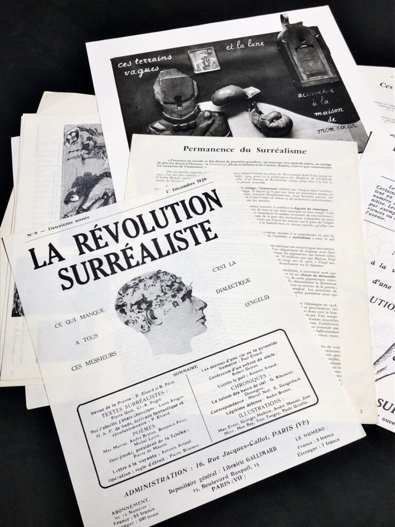surrealism pages